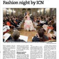 Article de presse Vertiges Mode ICN Nancy Fashion Night